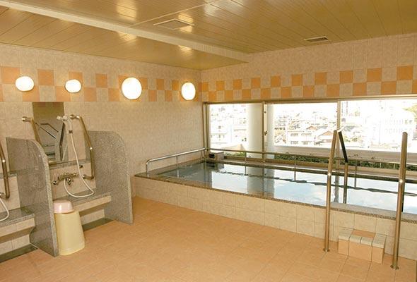 展望浴場「回春の湯」男女各1(6階)